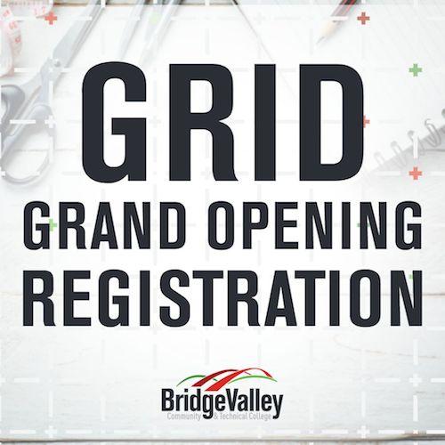 GRID Grand Opening Registration